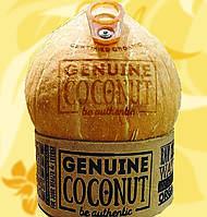 Натуральный кокосовый орех, кокосовая вода, Genuine Coconut, 280 мл, Lsi