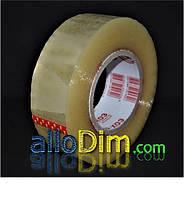 Скотч ПЛОТНЫЙ упаковочный прозрачный - 50 микрон × 1000 м (заказ кратно 6шт)