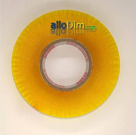 Скотч ПЛОТНЫЙ упаковочный прозрачный - 50 микрон × 2000 м (заказ кратно 6шт), фото 2
