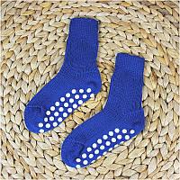 Термошкарпетки дитячі зі стоперами GROEDO 14116 (розмір 21-22, синій)
