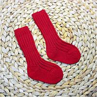 Термошкарпетки дитячі GROEDO 14041 (розмір 68-74, червоний)