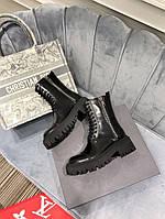 Женские Ботинки осенние зимние Balenciaga (Баленсиага) купить люкс качество