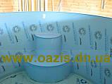 Купели, бассейны полипропиленовые круглые зашитые дубом, фото 2