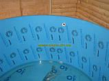 Купели, бассейны полипропиленовые круглые зашитые дубом, фото 5