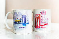 Чашки BEU in New York (Boy&Girl)