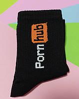 Носки 36-40 размер 6 пар с принтом черные плотные хлопок 6 шт. комплект женские подросток носочки Pornhub