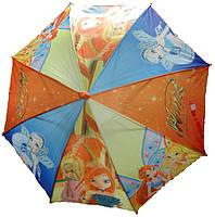 Зонт-трость для девочки «Винкс»