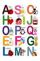 Магнитные буквы Английский алфавит, 26шт