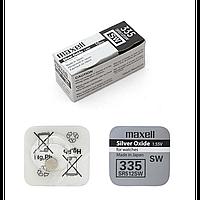 Часовая батарейка Maxell SR512 SW (335) 10 штук
