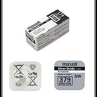 Часовая батарейка maxell sr521sw-b1 (379) 10 штук