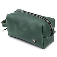Шкіряна сумочка унісекс GRANDE PELLE 11571 Зелений