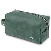 Шкіряна сумочка унісекс GRANDE PELLE 11572 Зелений