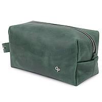 Шкіряна сумочка унісекс GRANDE PELLE 11573 Зелений