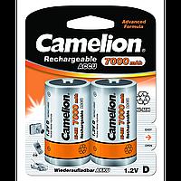 Аккумуляторы Camelion R20 2 штуки 7000 mAh Ni-MH (NH-D7000BP2)