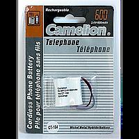 Аккумуляторы camelion c001 t-104 600 mah