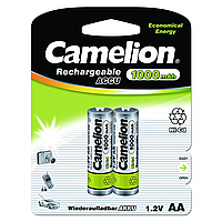 Никель-кадмиевые аккумуляторы camelion r 6 2 штуки 1000 mah ni-cd (nc-aa1000bp2)