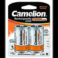 Аккумуляторы Camelion R20 2 штуки 10000 mAh Ni-MH (NH-D10000BP2)