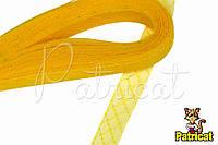 Кринолин (регилин) мягкий с рисунком Желтый 2 см 1 м