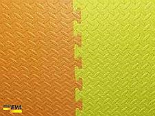 "Мат-татами  ""ласточкин хвост"" 80 кг/м3 20мм оранжево-желтые Т1, фото 3"
