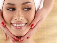 Різні види масажу обличчя.