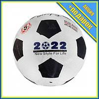 Мяч футбольный №5, чёрный,Профессиональный мяч для футбола,Футбольный мяч для асфальта,Мини футбольный мяч,Мяч