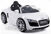Детский Электромобиль AUDI KD100 (на р/у,EVA колеса,открываются двери,4-ре амортизатора,кожанное сиденье,MP3 вход,музыка,свет,размер-120*53*36 см)