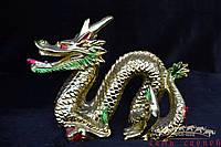 Дракон зигзаг с жемчужиной 17х13
