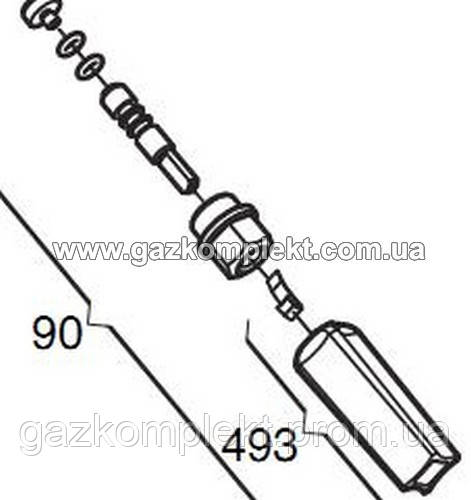 Комплект крана подпитки BAXI ECO3 611930
