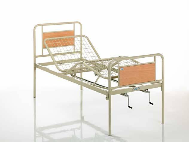 Кровать медицинская металлическая трехсекционная , фото 2