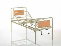 Кровать медицинская металлическая трехсекционная