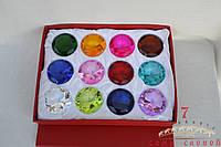 Набор кристаллов 12 шт D6