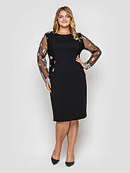 Вечірній сукні великих розмірів Адель чорне