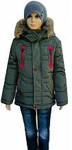 Куртка зимова 5-9 років