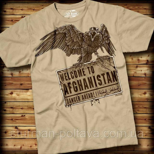 Футболка 7.62 Design 'Welcome To Afghanistan'
