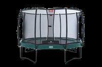 Батут Berg Elite + Regular Green 430 + Сетка безопасности Safety Net T-series 430