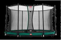 Батут Berg InGround Favorit 430 + Сетка безопасности Safety Net Deluxe 430