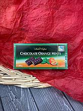 Шоколадные конфеты с апельсиново-мятной начинкой Orange Mints Maitre Truffout, 200г
