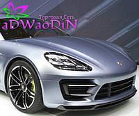 Опубликованы первые фотографии салона нового Porsche Panamera