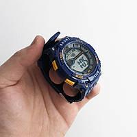 Часы наручные Polit, в коробке. Цвет: синий LC-359 с оранжевым