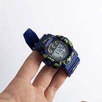 Часы наручные Polit, в коробке. Цвет: PQ-136 синий камуфляж