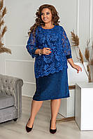 """Платье женское  гипюр + люрекс(52-54)""""BELLISIMO"""" недорого от прямого поставщика"""