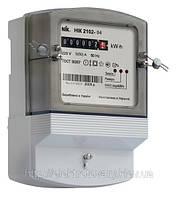 Счетчик электроэнергии однофазный НИК 2102 М1 1Ф
