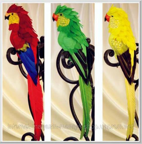 Декоративный попугай