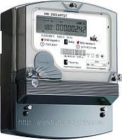 Счетчик электроэнергии трехфазный НІК 2303 АРК1Т 3х220/380В 5(10)А