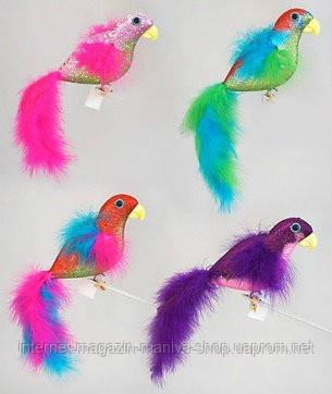 Елочное украшение Попугай