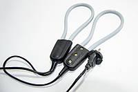 Электрическая сушилка для обуви дуговая серая, электросушилка для обуви | електросушарка для взуття