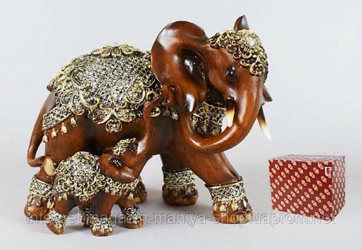 Декоративная статуэтка Слон 20см
