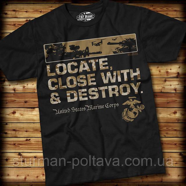Футболка 7.62 Design USMC 'Locate'