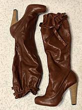 Эксклюзивные Итальянские сапоги 40 размер