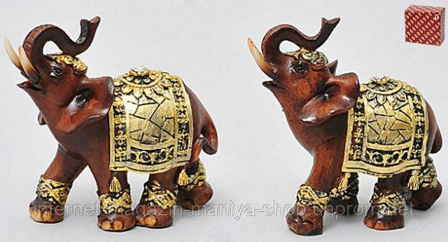 Декоративная статуэтка Слон 9см